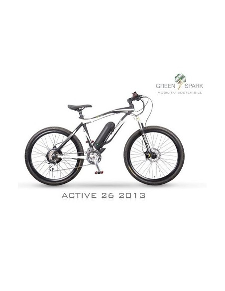 "GREEN SPARK ACTIVE 26"" ENDURO MTB"
