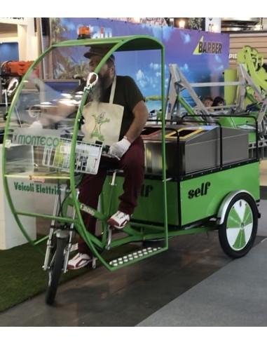 E-Trike Gladiator II – Triciclo isola ecologica