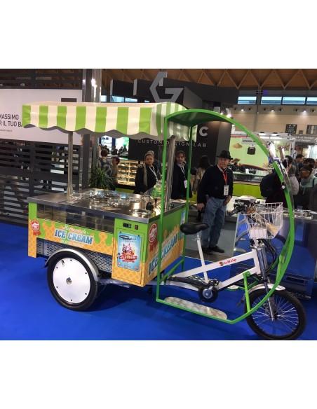 E-Trike Gladiator II – Triciclo gelato – ice cream