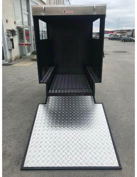 riciclo trasporto merci grande volume: con Gladiator II puoi caricare fino a 2,2 m³