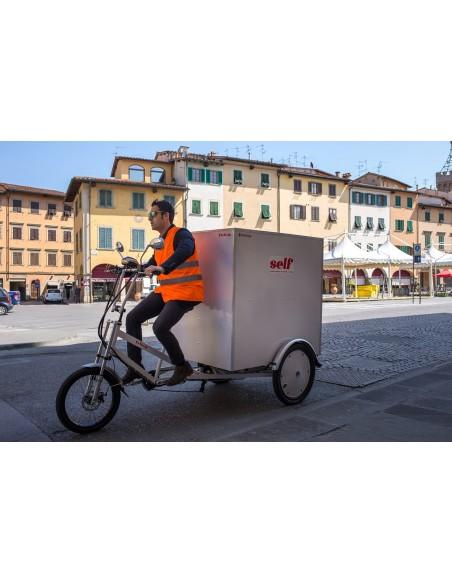 E-Trike Gladiator II – Triciclo trasporto merci