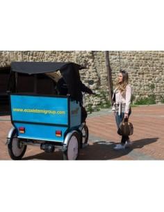E-Trike Gladiator II – Triciclo Risciò trasporto persone