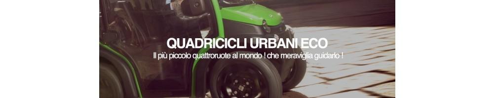 QUADRICICLI ELETTRICI ecosostenibili  | Quadriciclo urbano anche personalizzabile